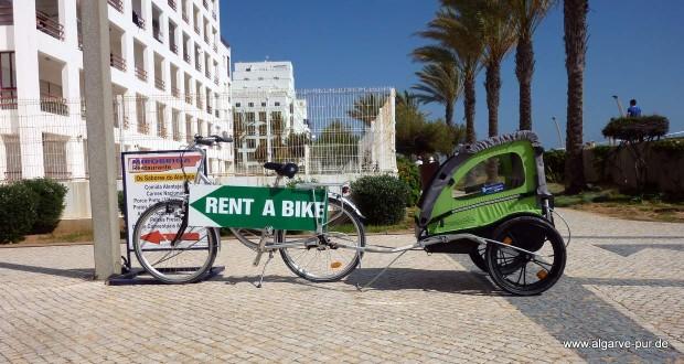 Urlaub mit Fahrrad Algarve
