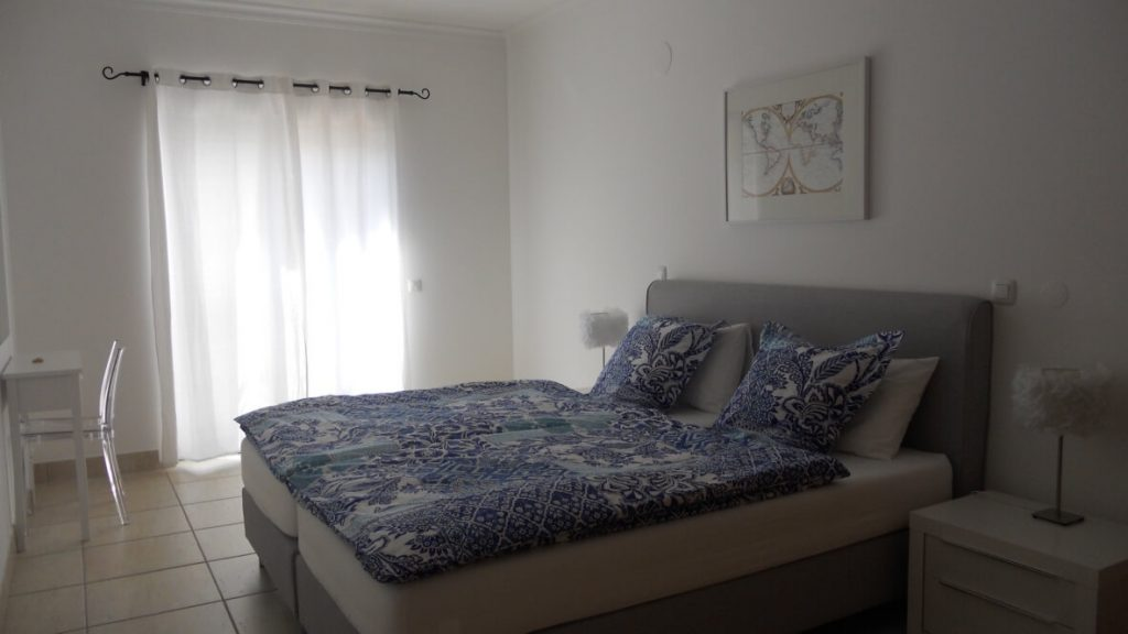 Schlafzimmer Ferienwohnung Laogs