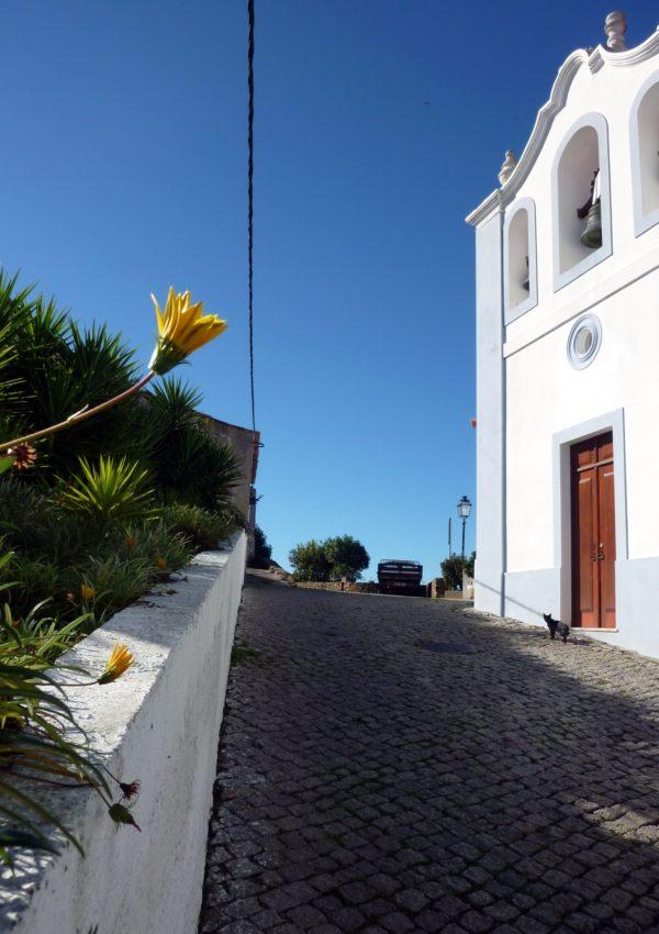 Straße in Aljezur