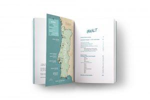 Surfguide Portugal_Inhaltsverzeichnis _ Übersichtskarte
