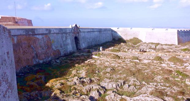 Urlaub an der Westküste der Algarve-Fortaleza de Sagres