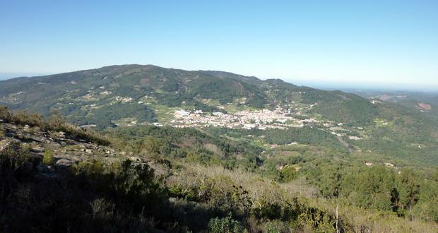 Urlaub in Monchique in den Bergen der Algarve, Monchique am Berg Fóia, Algarve, Portugal