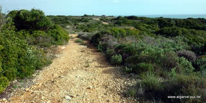 Ferragudo Strand Algarve