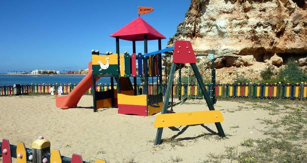 Praia Grande, Ferragudo, Algarve, Portugal