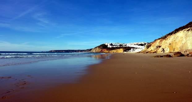Praia Salema, Algarve, Portugal